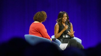 Michelle Obama Talks Empowerment at Apple Conference