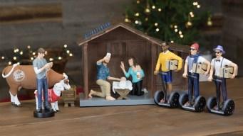 'Modern Nativity' Ruffles Feathers