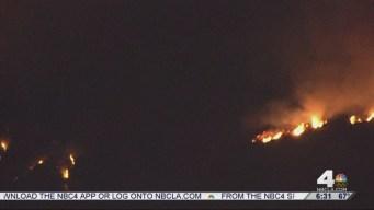 More Evacuations Possible as San Gabriel Complex Fires Continue