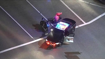 CHP Ends Motorcycle Pursuit in Upland With Aggressive, Efficient Move