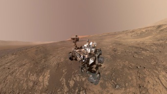 NASA Turns Selfies by Mars Rover Into Stunning Self-Portrait