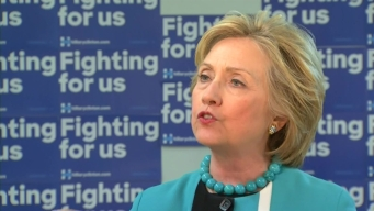 NewsConference Hillary Clinton One-On-One with NBC4's Conan Nolan
