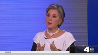NewsConference Senator Boxer Not a Queen Maker