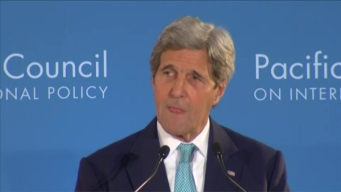 NewsConference Kerry Pushes for the Trans Pacific Partnership