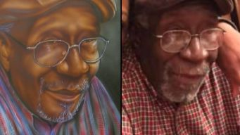 Artist Gifts Portrait to Family of Shooting Victim