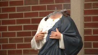Vandals Decapitate Life-Size Jesus Statue Outside Church