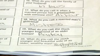 Controversial Quiz Shocks Sixth Graders and Parents