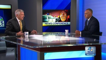 NewsConference New Police Commissioner on Alternatives to Lethal Force
