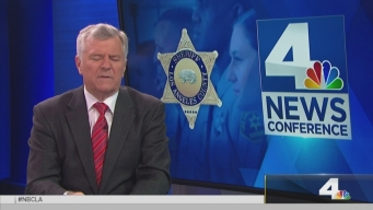 NewsConference LA Sheriff  on the Ca. Ballot Measures