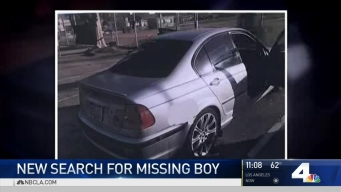 New Search for Missing South Pasadena Boy