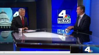 NewsConference: Gavin Newsom on Legalizing Marijuana, Global Warming, More