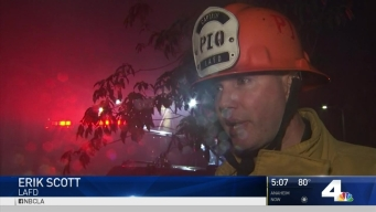 Officers Investigate Cause of Westlake Fire
