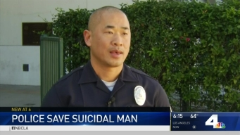 Officers' Quick Thinking Saves Suicidal Man