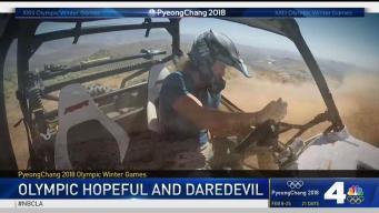 Olympic Hopeful is Daredevil