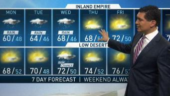 PM Forecast: Rain on the Way