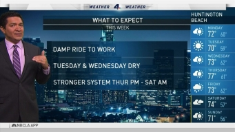 PM Forecast: Damp Ride to Work