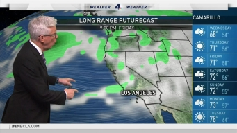 PM Forecast: Drizzle Possible Midweek