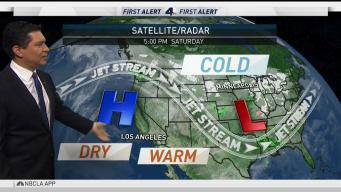 PM Forecast: Dry and Warm Week Ahead