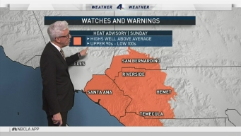 PM Forecast: Fire Weather Warnings In Effect