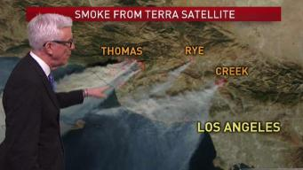 PM Forecast: High Winds Increase Fire Danger