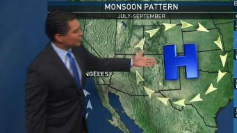 PM Forecast: Humidity is Back in SoCal
