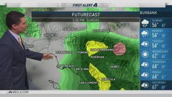 PM Forecast: Last of Three Storm Systems Headed for SoCal