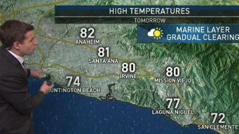 PM Forecast: Marine Layer Will Gradually Clear