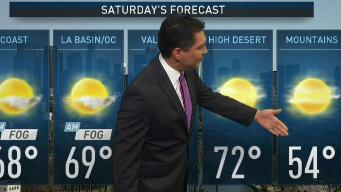 PM Forecast: Memorial Day Weekend Warm Up