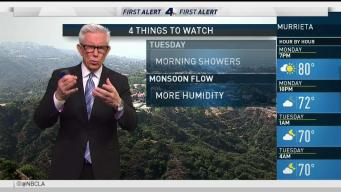 Forecast: More Humidity