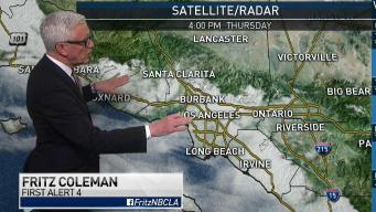 PM Forecast: Overnight Clouds and Drizzle
