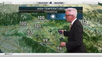 PM Forecast: Peak of the Heat Wave