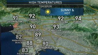 PM Forecast: Potential Record High Heat
