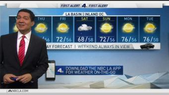 PM Forecast: Rain Chance Coming Saturday