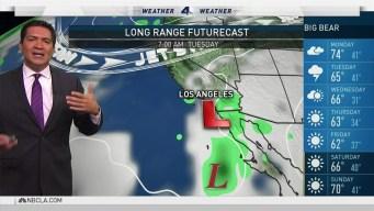 PM Forecast Rain Possible Late Monday