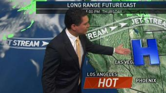 PM Forecast: Temperatures in the 90s Wednesday