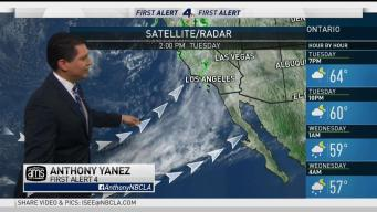 PM Forecast: Tracking Several SoCal Storms