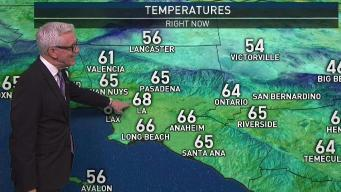 PM Forecast: Warm, Dry Wind on the Way