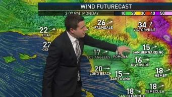 PM Forecast: Windy and Cooler on Monday