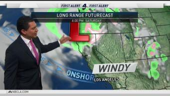 PM Forecast: Possible Rain and Thunderstorms Next Week