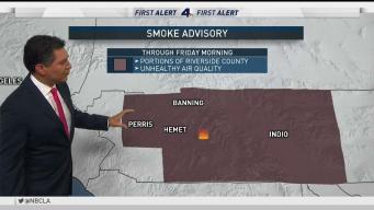 PM Forecast: Smoke Advisory