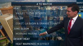 PM Weather: Heat Warnings in Effect