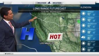 PM Forecast: Onshore Flow to Slightly Lower Temps
