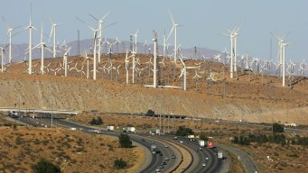 CA Blows by Wind Energy Record During Storm