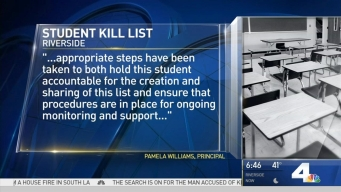 Parents Worried Over Student 'Kill List'