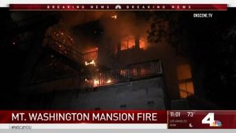 Person Still Missing After Blaze Burns Mansion