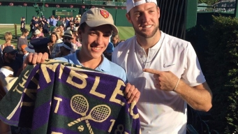 Athlete Gives Towel to Teen Who Lost in Wimbledon Tug-of-War