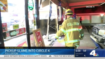 Pickup Slams Into Convenience Store