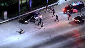 Pursuit Driver Wanted for Assault Arrested in Takedown on the 5 Freeway
