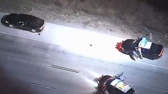 High-Speed Police Pursuit Out of Orange County Races Over 100 mph