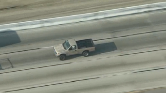 Perfect Pit Maneuver Ends IE Police Pursuit of Gold Pickup Truck